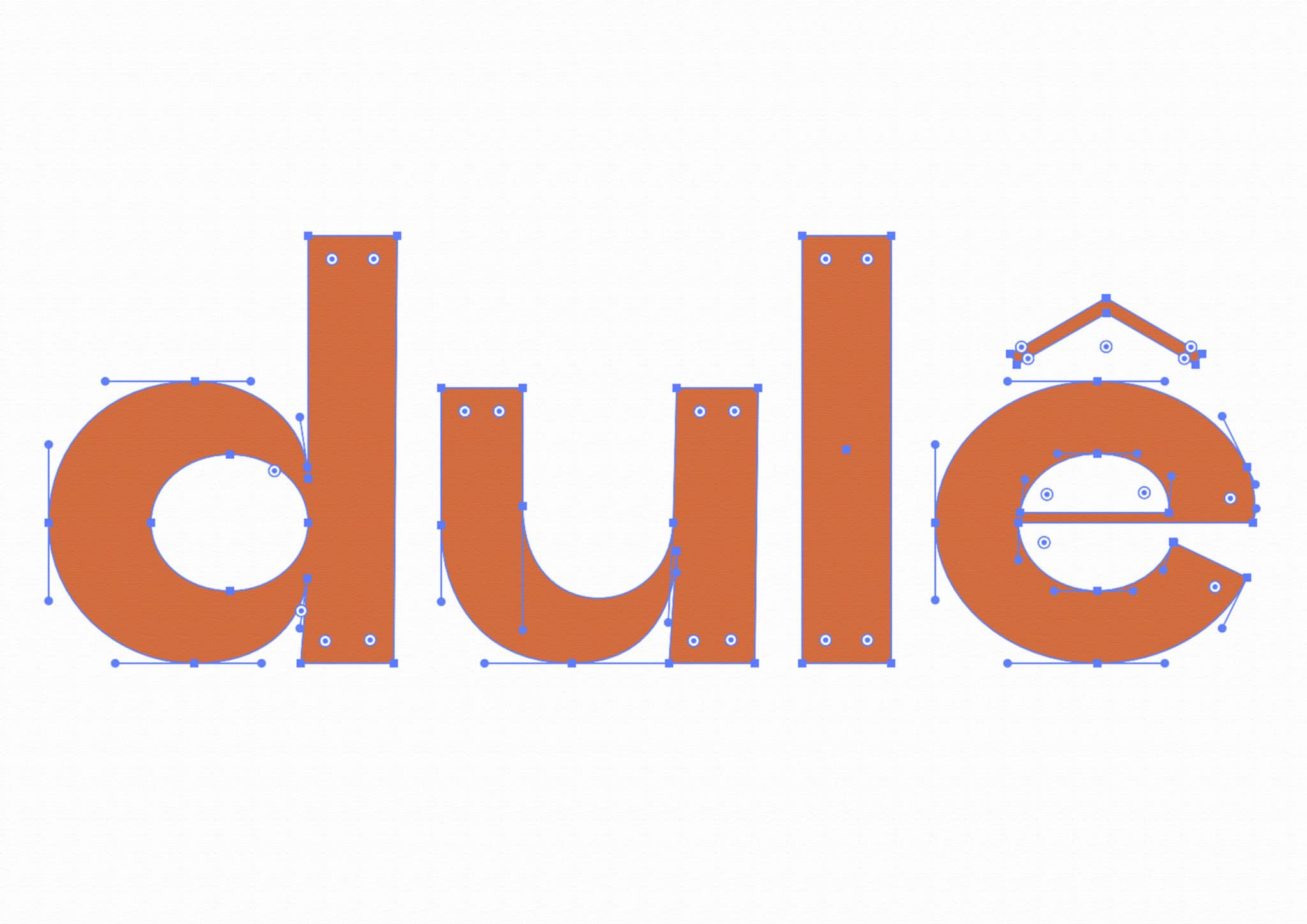 dulê lettering